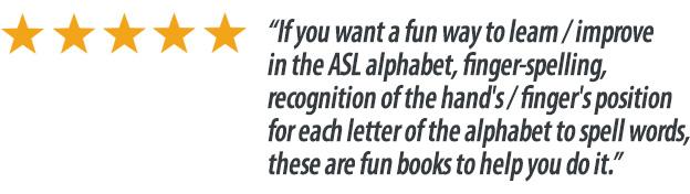 5stars review ASL Wordsearchbook